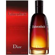 Christian Dior Fahrenheit Туалетная вода 100 ml (Кристиан Диор Фаренгейт) Мужской Парфюм Аромат Духи
