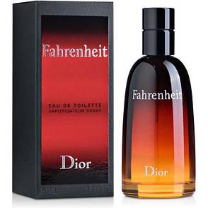 Christian Dior Fahrenheit Туалетная вода 100 ml (Кристиан Диор Фаренгейт) Мужской Парфюм Аромат Духи, фото 2