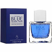 Antonio Banderas Blue Seduction For Men 100 мл Туалетная вода (Антонио Бандерас Блю Седакшн) Мужской Парфюм