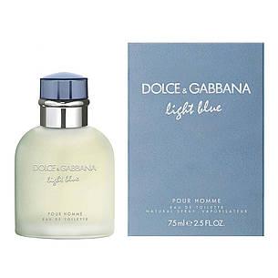 Dolce&Gabbana Light Blue Pour Homme Туалетная вода 125 ml D&G (Дольче Габана Лайт Блю Пур Хоум) Мужской Парфюм, фото 2