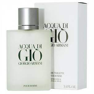 Armani Acqua di Gio Pour Homme Туалетная вода 100 ml (Армани Аква Ди Джио), фото 2