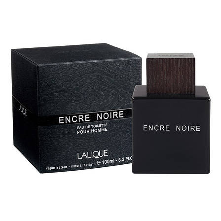 Lalique Encre Noire Парфюмированная вода 100 ml (Лалик Энкре Нуар Нуа) Мужской Парфюм Духи Аромат Туалетная, фото 2