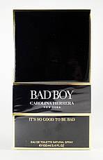 Carolina Herrera Bad Boy Туалетная вода 100 ml (Каролина Эррера Бэд Бой Плохой Парень) Мужской Парфюм Аромат, фото 2