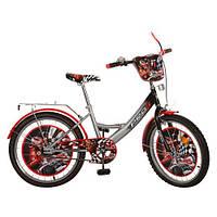 Велосипед детский PROF1 мульт 20д. PF2046