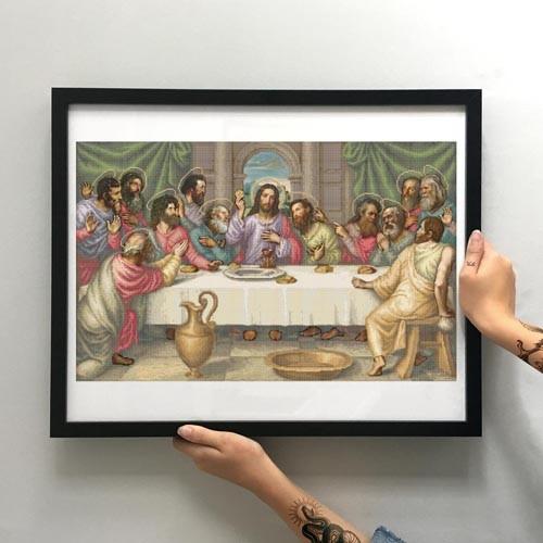 """Схема для вишивки бісером """"Тайна вечеря"""" (велика) (ЗПО-029)"""