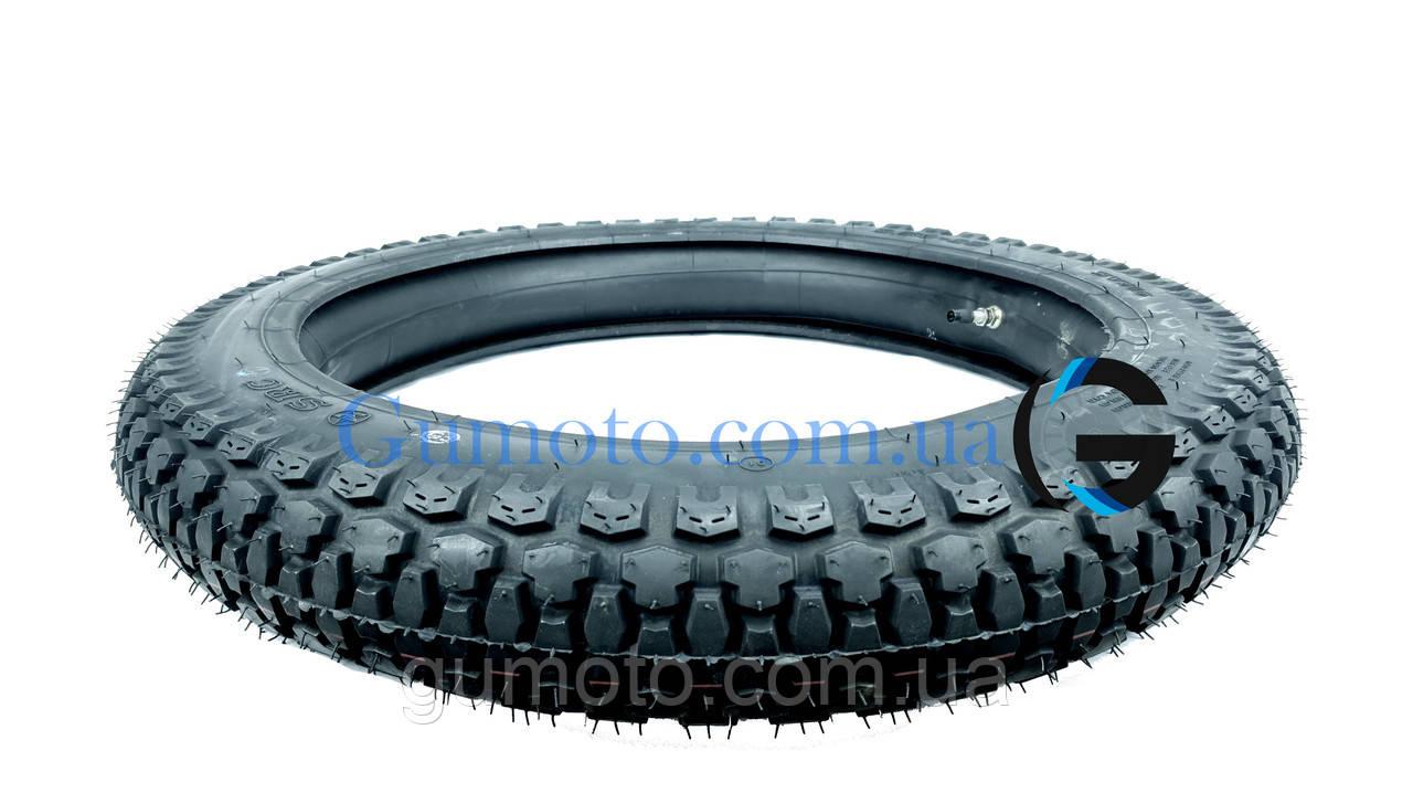 Резина на мотоцикл 3.50-18 шип SRC Вьетнам, фото 4