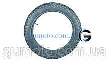 Резина на мотоцикл 3.50-18 шип SRC Вьетнам камерная, фото 3