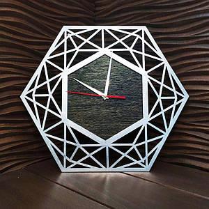 Часы с ефектом серебра