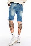 Шорты мужские джинсовые Franco Benussi 19-429 Sof светло-синие, фото 2