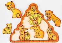 Головоломка Львы, Развивающая игрушка для детей, 2+, фото 1