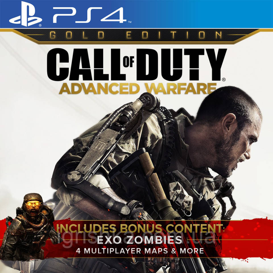 Золотое Издание Call Of Duty: Advanced Warfare Ps4 (Цифровой аккаунт для PlayStation 4) П3
