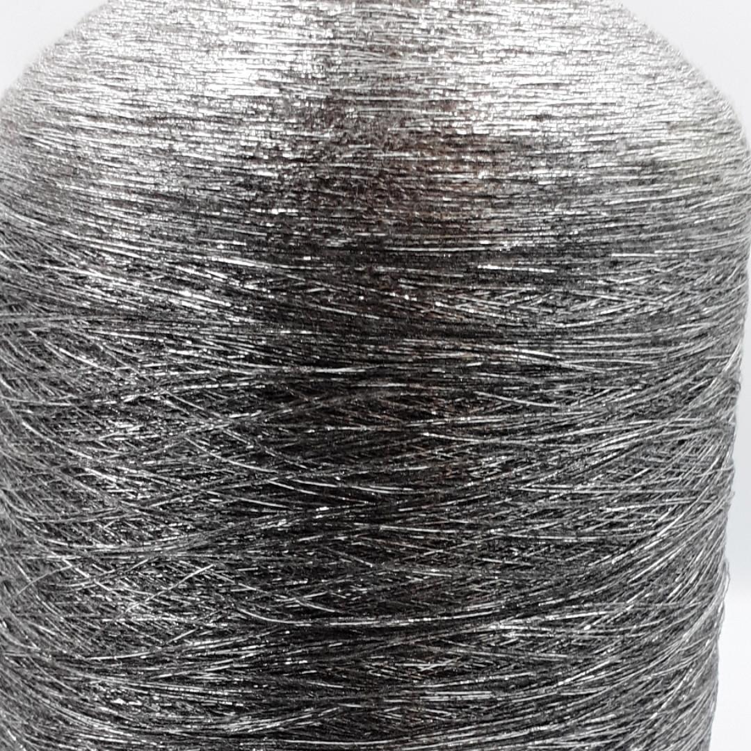 DISPO люрекс на вискозе 70%вискоза, 15% люрекс, 15%полиэстера - бобинная пряжа для машинного и ручного вязания