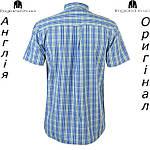 Рубашка в клетку мужская Pierre Cardin из Англии - на короткий рукав, фото 2