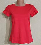 Женская базовая футболка, фото 4