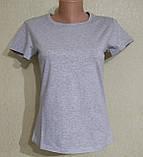 Женская базовая футболка, фото 6