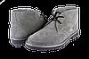 Женские  ботинки женские на шнурках inblu 1101c1сер серые   весенние