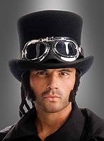 Карнавальные очки-авиаторы для образа стимпанк