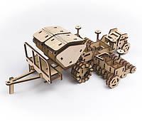 Дерев'яний 3D-конструктор Сівалка Spartan