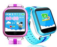 Детские умные часы с GPS Q100 Смарт часы с GPS сим карта sos sim smart baby watch