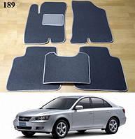 Коврики на Hyundai Sonata NF '05-09. Текстильные автоковрики, фото 1