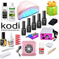 Стартовый набор для покрытия гель-лаком Kodi с лампой