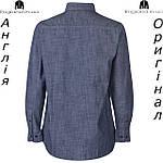 Рубашка деним мужская Pierre Cardin из Англии - на длинный рукав, фото 2