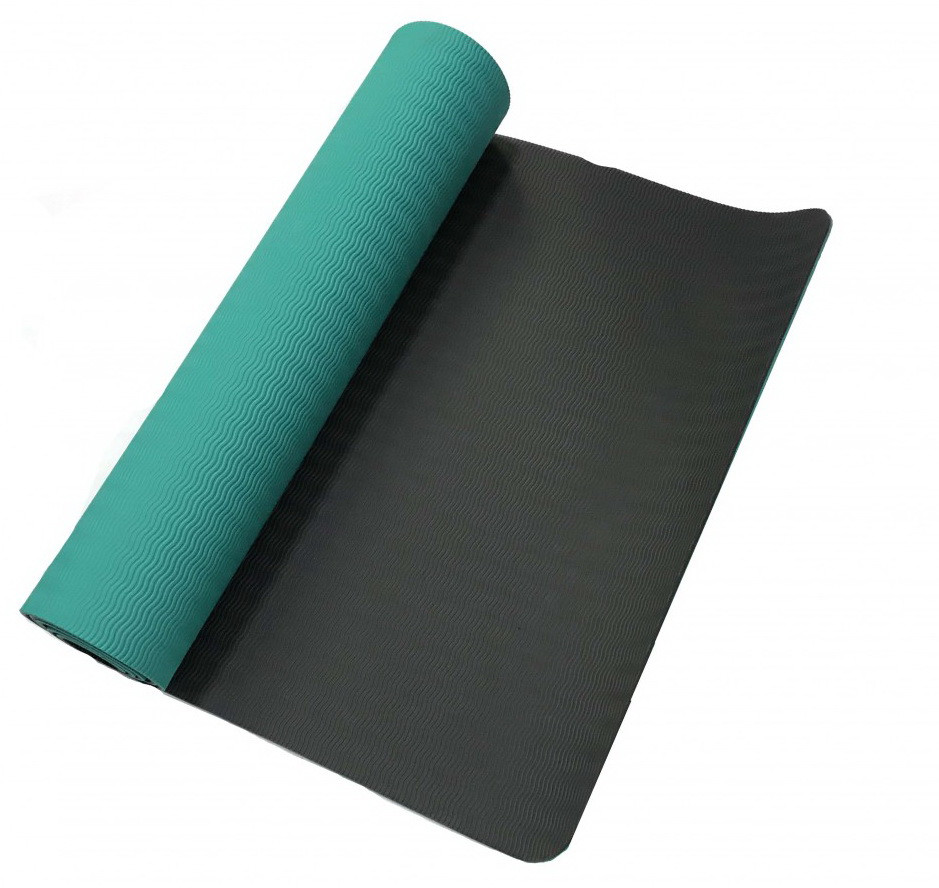 Килимок для йоги «LiveUp» LS3237-06g TPE YOGA MAT 1730х610х6мм