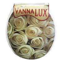Сиденье для унитаза мягкое универсальное Vanna Lux.