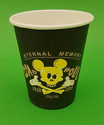 Паперовий стакан 175 мл Dead Mouse Маестро (50 шт)