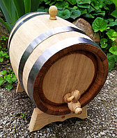 Бочка дубовая 5 литров для вина самогона коньяка виски