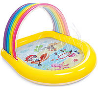 Детский Надувной Бассейн с Фонтаном, фото 1