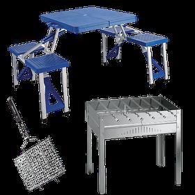 Мангалы, столы складные