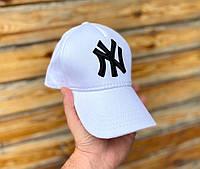 Мужская кепка, бейсболка New York (Нью Йорк), белая