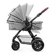 Универсальная коляска 3 в 1 Kinderkraft Moov Gray +ВИДЕО ОБЗОР, фото 4