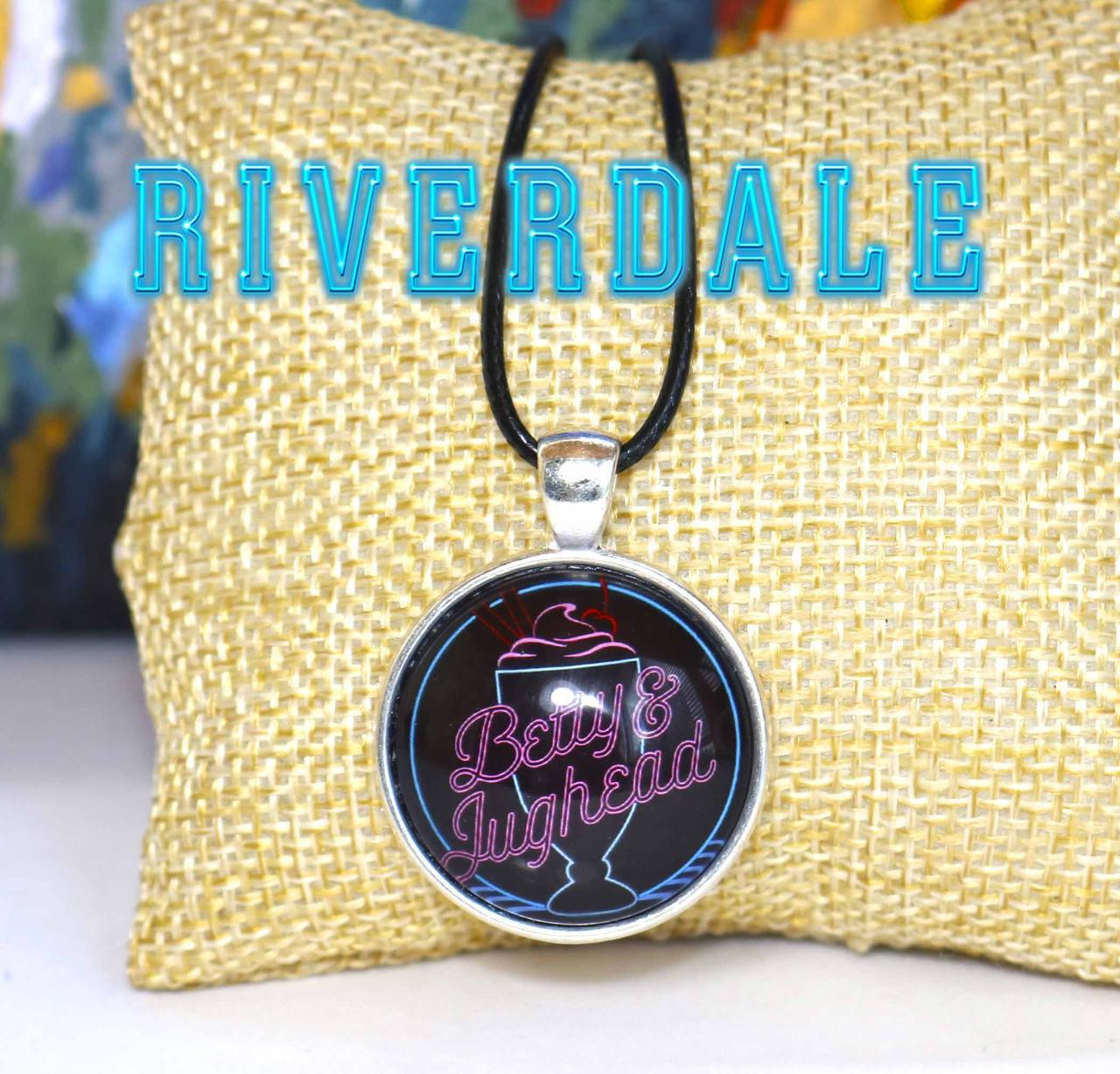 Кулон  Betty and Jughead Riverdale Ривердэйл