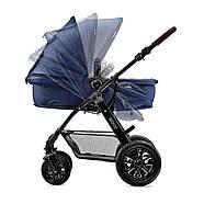 Универсальная коляска 3 в 1 Kinderkraft Moov Navy +ВИДЕО ОБЗОР, фото 4