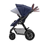 Универсальная коляска 3 в 1 Kinderkraft Moov Navy +ВИДЕО ОБЗОР, фото 6