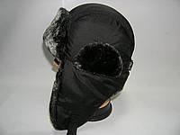 Зимняя шапка для мальчика черная, фото 1