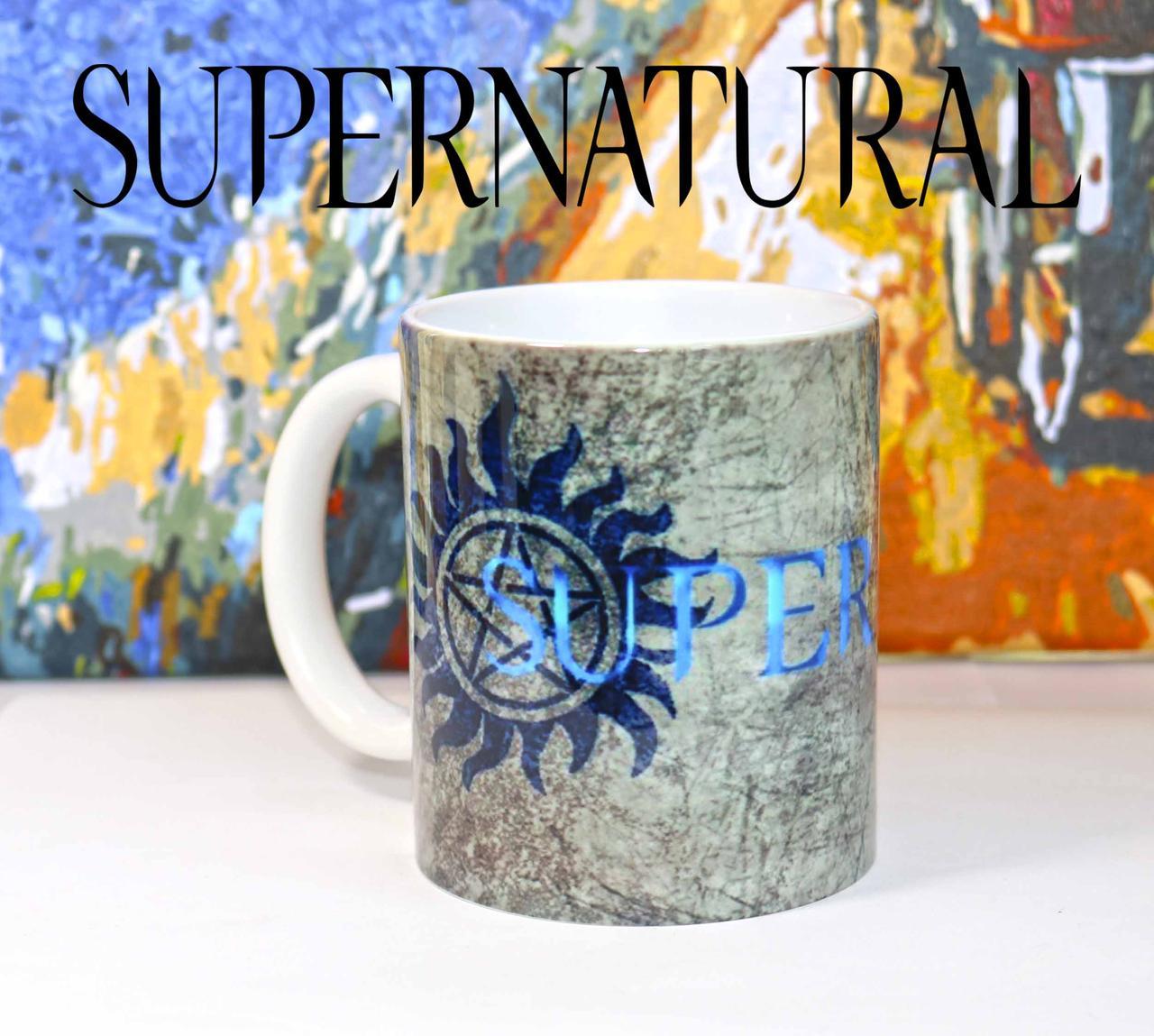 Чашка SUPERWOLF Сверхъестественное / Supernatural