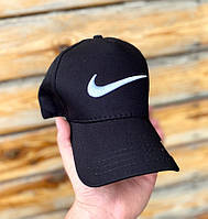 Мужская кепка, бейсболка Nike (Найк), черная