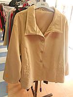 Бежевый замшевый пиджак Magnet, фото 1