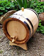 Бочка дубовая 10 литров для Вина самогона коньяка виски