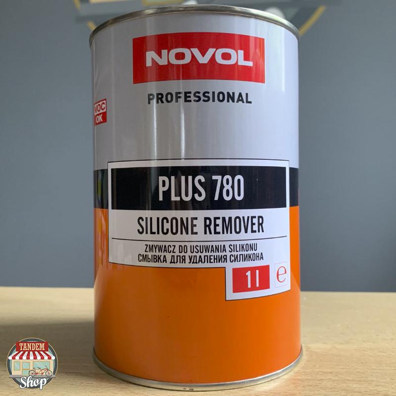 Обезжириватель на сольвентной основе (антисиликон) Novol Plus 780, 1 л
