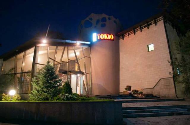 Интерактивная проекция на пол, ресторан Токио Киев 11