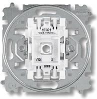 Механизм выключателя одноклавишного кнопочный с N клеммой