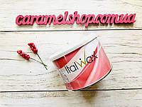 Теплый воск для депиляции в банке ItalWax Rose (Rosa), 400 мл - роза