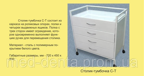 Стол-тумба С-Т NaviStom