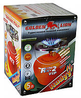 """Газовый комплект """"Golden Lion """"Rudyy Rk-2 VIP"""" 5л., фото 1"""