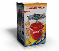 """Газовый комплект """"Rudyy Пикник-Italy Rk-3"""" 8 л."""