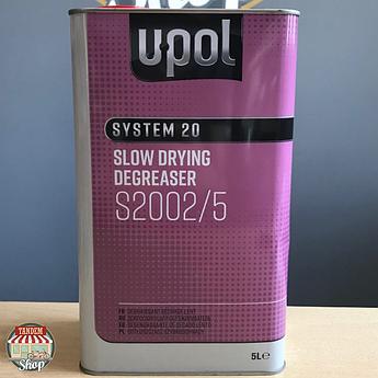 Обезжириватель на сольвентной основе (антисиликон) U-POL S2001, 5 л Быстрый